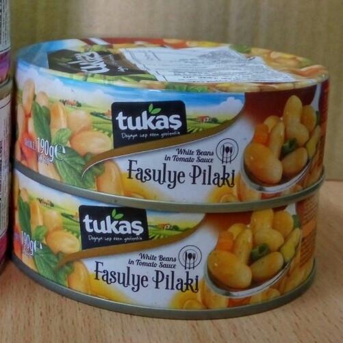 TUKAS FASULYE PILAKI (фасоль белая в томатном соусе)