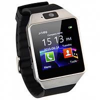 Умные часы-телефон Smart Watch DZ09 Silver УЦЕНКА(154407) #S/O