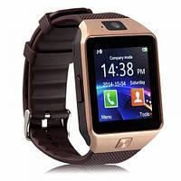Умные часы-телефон Smart Watch DZ09 Gold УЦЕНКА(165807) #S/O
