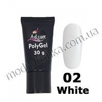 Поли-гель Lukum 02 White, 30 ml