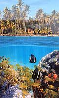 Карбоновий настінний обігрівач-картина Рибки