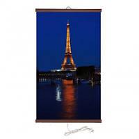 Карбоновий настінний обігрівач-картина Париж