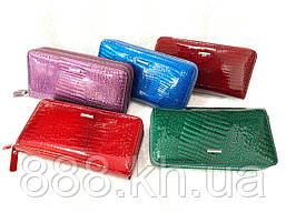 Женский кошелек MARIO DION из лакированной натуральной кожи, жіночий гаманець, опт