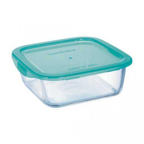Контейнер для еды Luminarc Keep'n'Box квадратный 1220мл ударопрочное стекло (4523P/P5520)