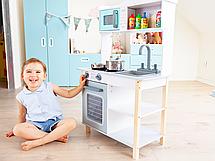 Детская деревянная кухонная плита и аксессуары Ecotoys, фото 3