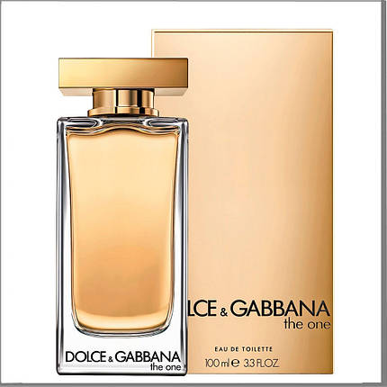 Dolce & Gabbana The One туалетная вода 100 ml. (Дольче Габбана Зе Уан), фото 2