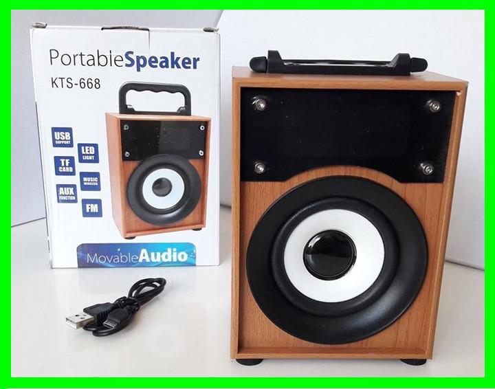 Портативная Bluetooth-FM-Колонка - 668