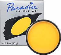 MEHRON Профессиональный аквагрим Paradise, Аквагрим Yellow (Желтый), 40 г, фото 1