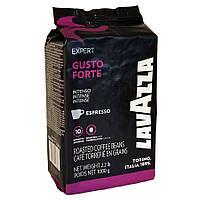 "Кава ""Lavazza"" зерно Gusto Forte 1кг чорно-фіолет (20%араб, 80%роб) (1/6)"