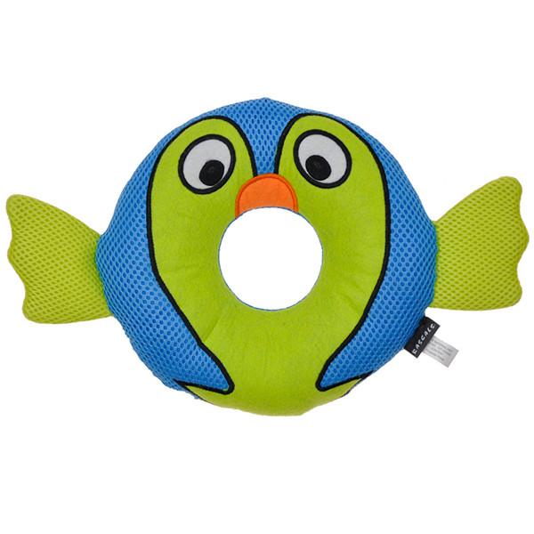 Игрушка для собак рыба фугу Coastal Rascals Rugged Ringer Mesh Toy Barney Blowfish