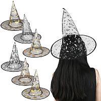 Шляпа Ведьмы с черепами