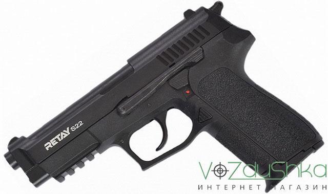 Стартовый пистолет Retay s22 black