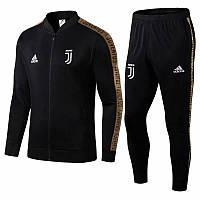 Спортивный костюм Ювентус/Juventus ( Италия, Серия А ), черный, сезон 2019-2020, фото 1