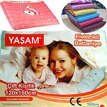 Простынь с подогревом 120 х 160 см - Yasam (Турция), фото 3