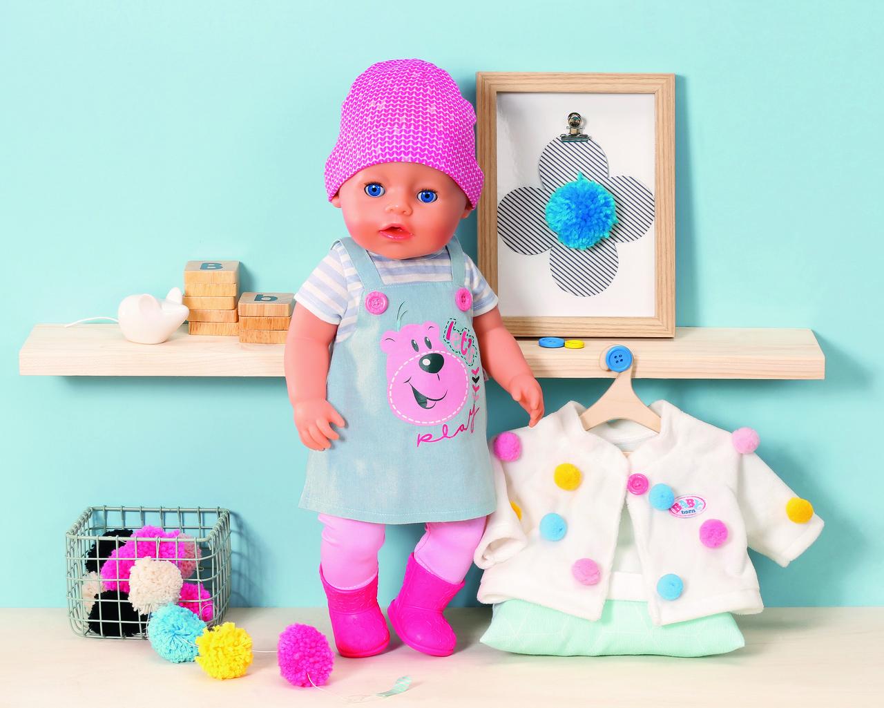 Кукла Беби Борн Кукла Нежные объятия Стильный Лук 826690 Zapf Creation