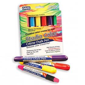 Фарбувальні крейда для вовни, волосся, шкіри Davis Kaleidoscope Colors