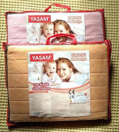 Электрическая простынь 120 х 160 см Yasam, Турция, фото 2