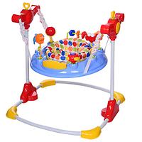 Прыгунок детский ВС 01-4 голубого цвета.