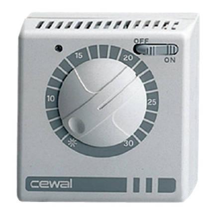 Механічний кімнатний регулятор температури Cewal RQ 05, фото 2