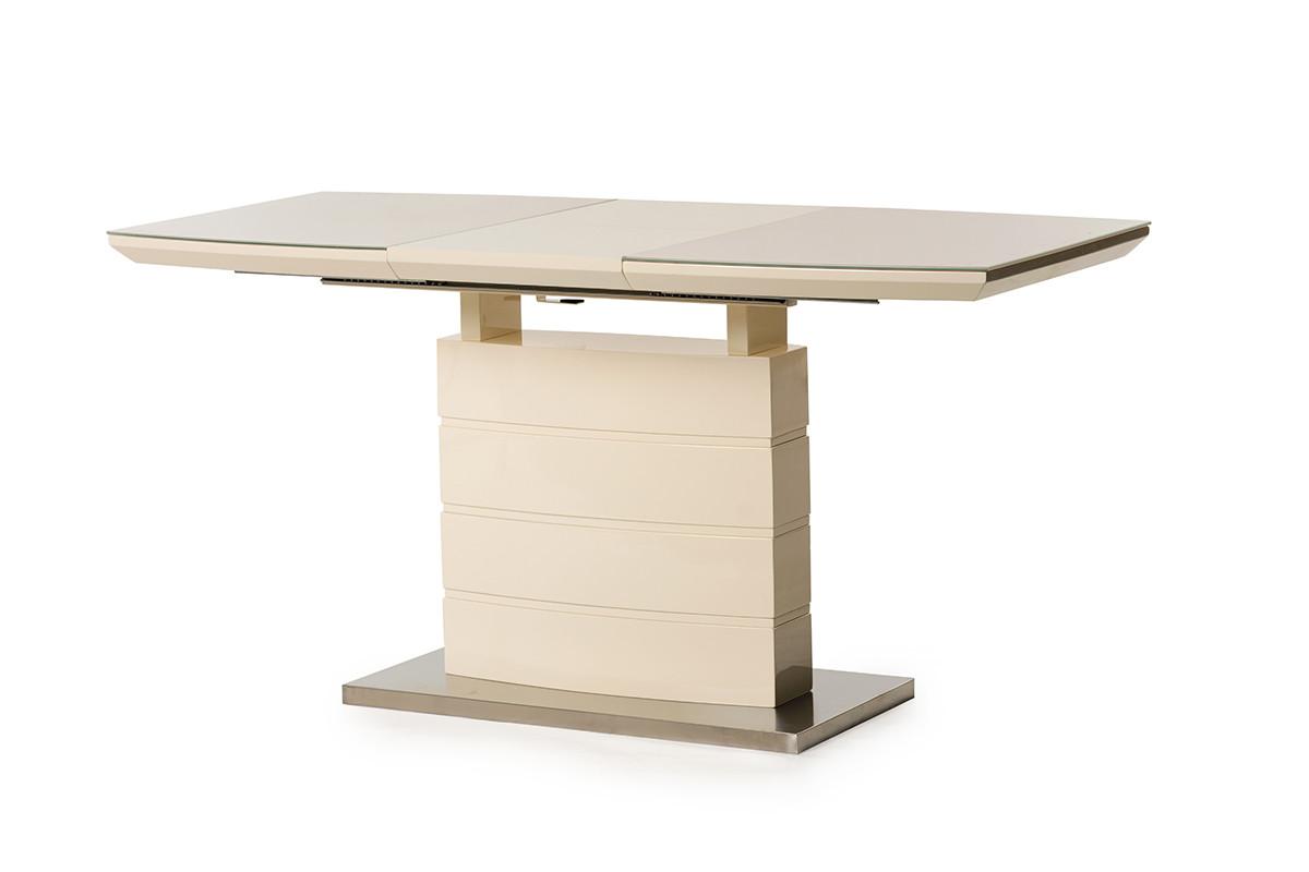 Раздвижной стол ТМ-50-2 молочный 110/150 от Vetro Mebel