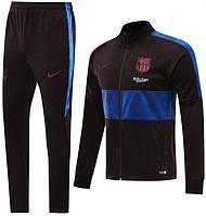 Дитячий спортивний костюм Барселона/Barcelona ( Іспанія, Приклад ), коричневий, сезон 2019-2020, фото 1
