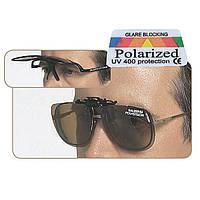 Очки Balzer Polavision Clip для оптических очков (коричневые линзы)