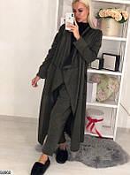 Стильный костюм женский брючный демисезонный размер 42-46 универсальный