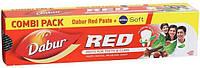 Зубная паста Ред, Red (200 gm) в подарок Nivea Soft Cream 7.9 gm