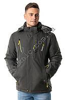 Очень теплая зимняя мужская куртка 52, 54. Цвет хаки