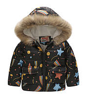 Куртка тёплая для мальчика 110 и 130