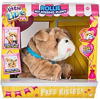 Интерактивная игрушка Moose Little Live Pets Щенок Ролли Люблю целоваться