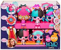 Игровой набор Pop Pop Hair Surprise – Модная причёска (с расчёской и питомцем)