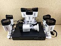 Комплект видеонаблюдения Регистратор + 8 проводных камер CCTV DVR KIT CAD D001 2mp\8ch