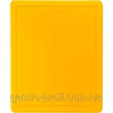 Доска разделочная 600x400x(H)18 мм желтая Stalgast 341633