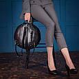 """Рюкзак жіночий круглий шкіряний """"Orion"""", фото 2"""
