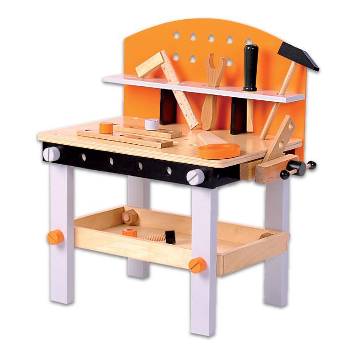"""Игровой набор деревянных инструментов Ecotoys """"Моя мастерская"""""""""""