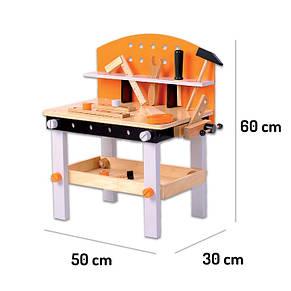 """Игровой набор деревянных инструментов Ecotoys """"Моя мастерская"""""""", фото 2"""
