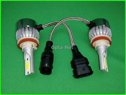 Комплект ксеноновых ламп для автомобиля  C6-H11