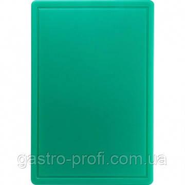 Доска разделочная 600x400x(H)18 мм зеленая Stalgast 341632