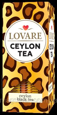 Чай Lovare / Ловаре Цейлон, 24 пакета