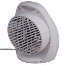 Бытовой электрообогреватель с регулятором | Тепловентилятор | Дуйка Domotec MS-59012000 W, фото 2