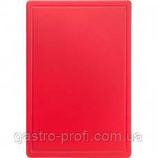 Доска разделочная 600x400x(H)18 мм красная Stalgast 341631