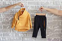 """Спорт костюмы детские """"Bike"""", горчичного цвета, Размеры от 80 до 110"""