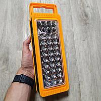 Энергосберегающая аккумуляторная светодиодная лампа-панель Yajia YJ-6816 Подвесная Фонарь LED переносная