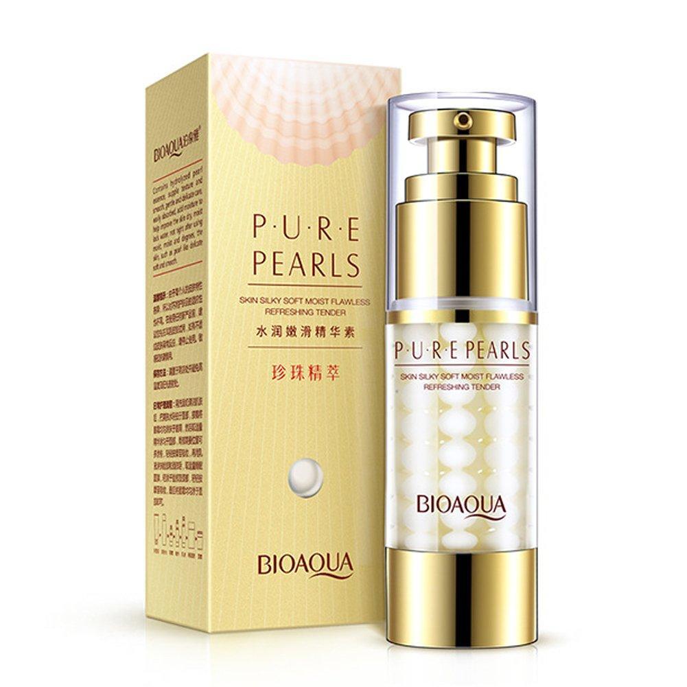 Сыворотка для шелковистости кожи с экстрактом жемчуга BIOAQUA Pure Pearls Essense