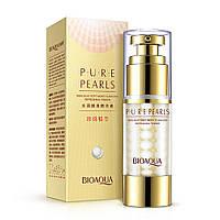 Сыворотка для шелковистости кожи с экстрактом жемчуга BIOAQUA Pure Pearls Essense, фото 1