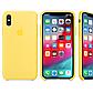 Силиконовый чехол бампер для Apple iPhone 7 / 8 желтый, фото 3