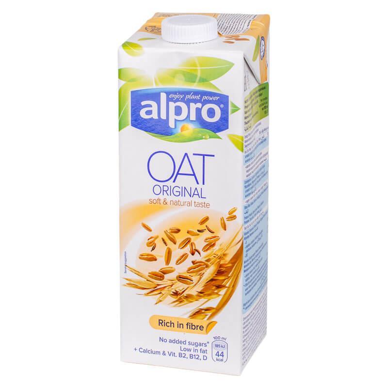 Напиток овсяный Oat Original Alpro 1л