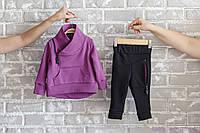 """Спорт костюм детский """"Bike"""", сиреневый, Размеры от 80 до 110, фото 1"""