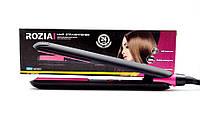 Плойка утюжок для укладки волос Rozia HR-739 30 Вт с терморегулятором